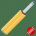 🏏 cricket game Emoji on Joypixels Platform