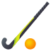 🏑 field hockey Emoji on Joypixels Platform
