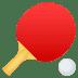 🏓 ping pong Emoji on Joypixels Platform