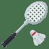🏸 badminton Emoji on Joypixels Platform