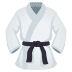 🥋 martial arts uniform Emoji on Joypixels Platform