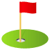 ⛳ flag in hole Emoji on Joypixels Platform