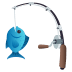 🎣 fishing pole Emoji on Joypixels Platform
