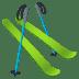 🎿 skis Emoji on Joypixels Platform