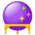 🔮 crystal ball Emoji on Joypixels Platform