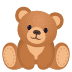 🧸 teddy bear Emoji on Joypixels Platform