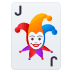 🃏 joker Emoji on Joypixels Platform
