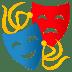 🎭 performing arts Emoji on Joypixels Platform