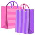 🛍️ Shopping Bags Emoji on JoyPixels Platform