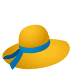 👒 woman's hat Emoji on Joypixels Platform