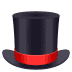 🎩 top hat Emoji on Joypixels Platform