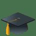 🎓 graduation cap Emoji on Joypixels Platform