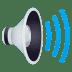 🔊 speaker high volume Emoji on Joypixels Platform