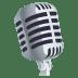 🎙️ studio microphone Emoji on Joypixels Platform