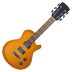 🎸 guitar Emoji on Joypixels Platform