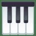 🎹 musical keyboard Emoji on Joypixels Platform