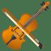 🎻 violin Emoji on Joypixels Platform