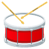 🥁 drum Emoji on Joypixels Platform