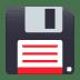 💾 floppy disk Emoji on Joypixels Platform
