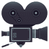 🎥 Movie Camera Emoji on JoyPixels Platform