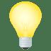 💡 light bulb Emoji on Joypixels Platform