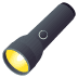 🔦 flashlight Emoji on Joypixels Platform