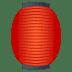 🏮 red paper lantern Emoji on Joypixels Platform