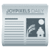 📰 newspaper Emoji on Joypixels Platform