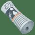 🗞️ rolled-up newspaper Emoji on Joypixels Platform
