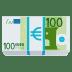 💶 Euro Banknote Emoji on JoyPixels Platform