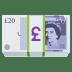 💷 pound banknote Emoji on Joypixels Platform