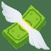 💸 money with wings Emoji on Joypixels Platform