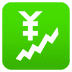 💹 chart increasing with yen Emoji on Joypixels Platform