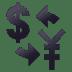 💱 Currency Exchange Symbol Emoji on JoyPixels Platform