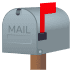 📫 closed mailbox with raised flag Emoji on Joypixels Platform