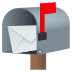 📬 open mailbox with raised flag Emoji on Joypixels Platform