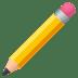 ✏️ Pencil Emoji on JoyPixels Platform