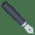 ✒️ black nib Emoji on Joypixels Platform