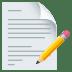📝 memo Emoji on Joypixels Platform