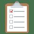 📋 clipboard Emoji on Joypixels Platform