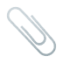 📎 paperclip Emoji on Joypixels Platform