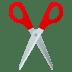 ✂️ scissors Emoji on Joypixels Platform