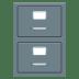 🗄️ file cabinet Emoji on Joypixels Platform