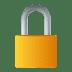 🔒 locked Emoji on Joypixels Platform