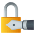 🔏 locked with pen Emoji on Joypixels Platform