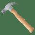 🔨 hammer Emoji on Joypixels Platform