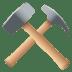 ⚒️ hammer and pick Emoji on Joypixels Platform
