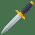 🗡️ dagger Emoji on Joypixels Platform