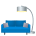 🛋️ couch and lamp Emoji on Joypixels Platform