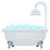 🛁 Bathtub Emoji on JoyPixels Platform